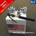 REBAR TWIST TRIPLE WIRE PACK 75
