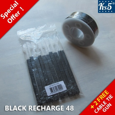 BLACK REFILLS 48