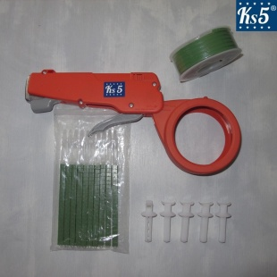 GREEN CABLE TIE GUN KIT
