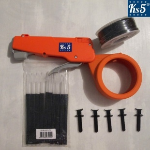 BLACK CABLE TIE GUN KIT