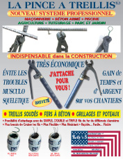 THE REBAR TWIST PLIER FRENCH BROCHURE